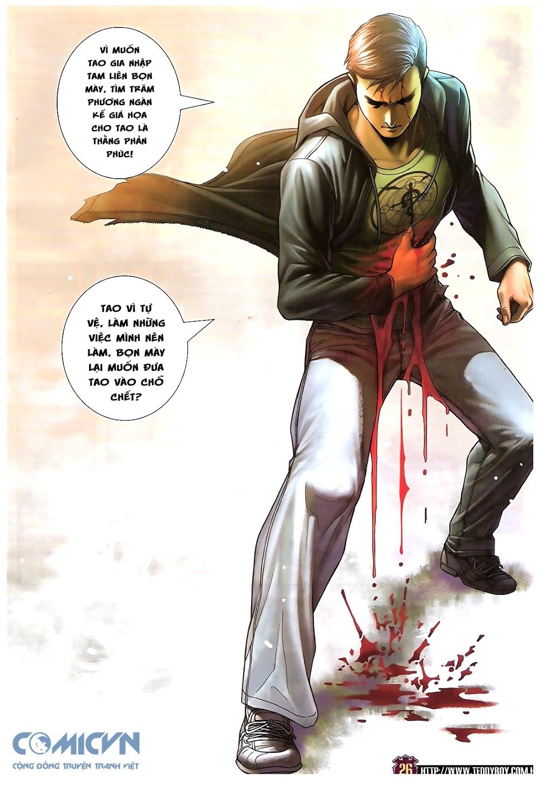Người Trong Giang Hồ chapter 1673: tắm máu lưu phù sơn trang 21