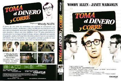 Toma el dinero y corre | 1969 | Take the Money and Run : Caratula, cover, dvd