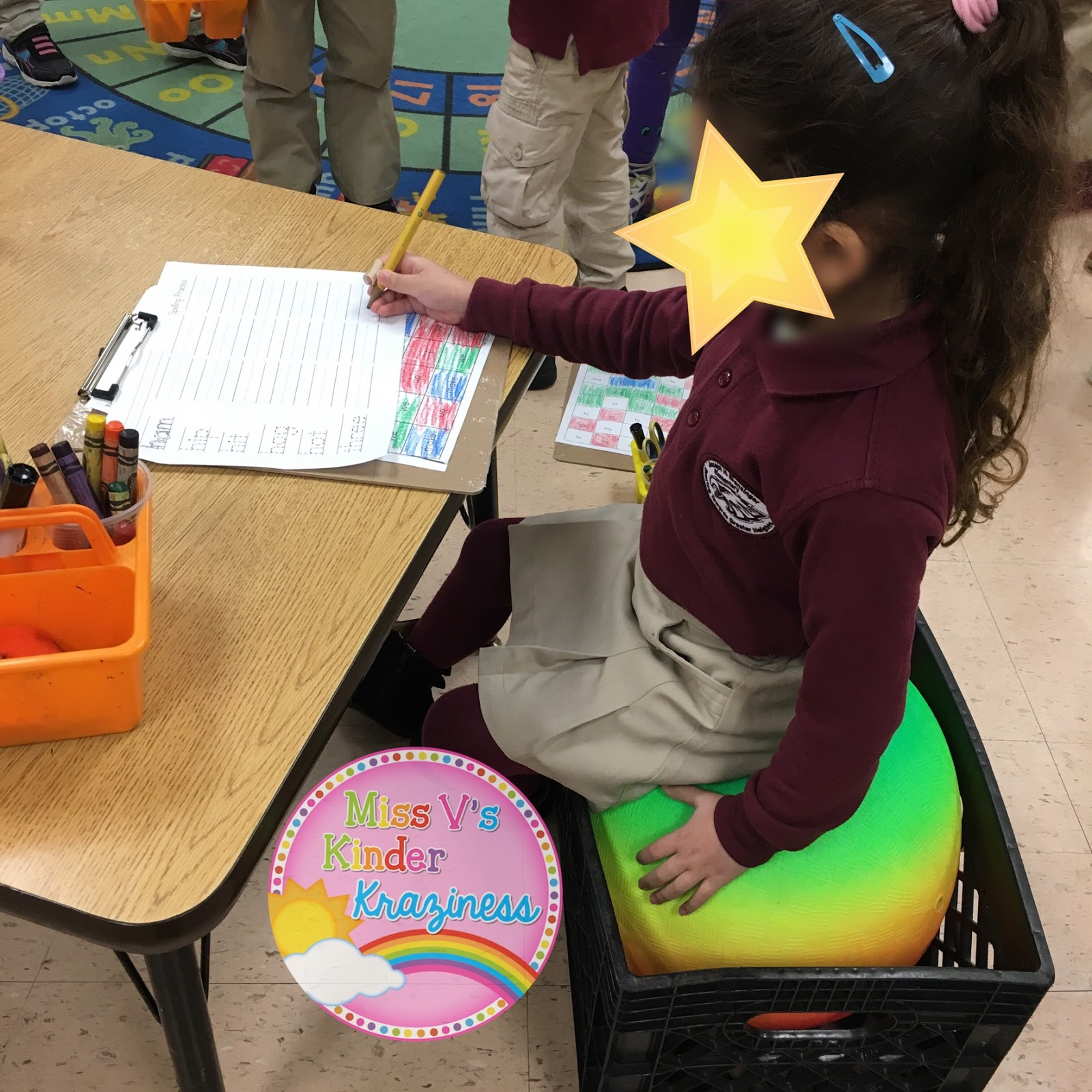 Flexible Seating HACK DIY Stability Ball Chairs The