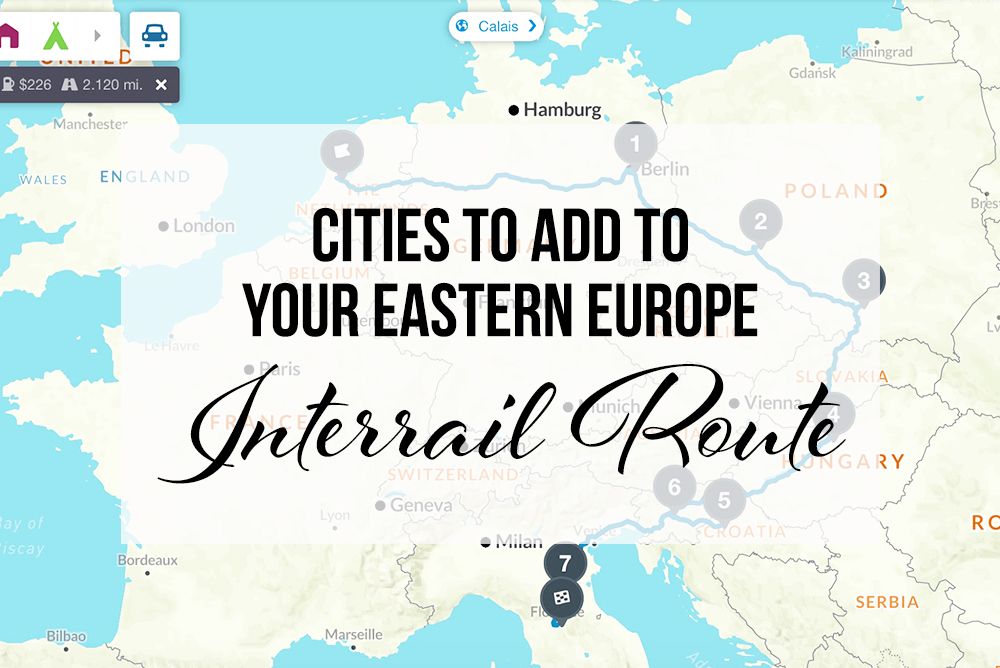 eastern europe interrail route