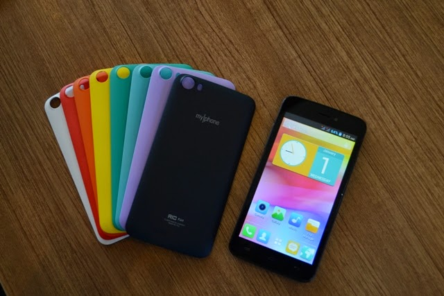MyPhone Fun Rio features Dual Core Processor, 5-Inch Display, Priced at P2,999