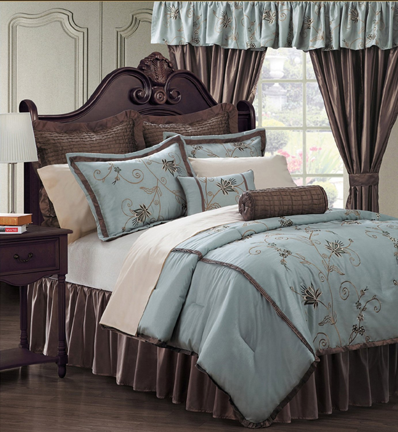 Light Blue And Brown Bedding Amp Comforter Sets