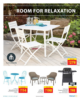 Walmart Outdoor Living Catalogue March 16 - 29, 2017