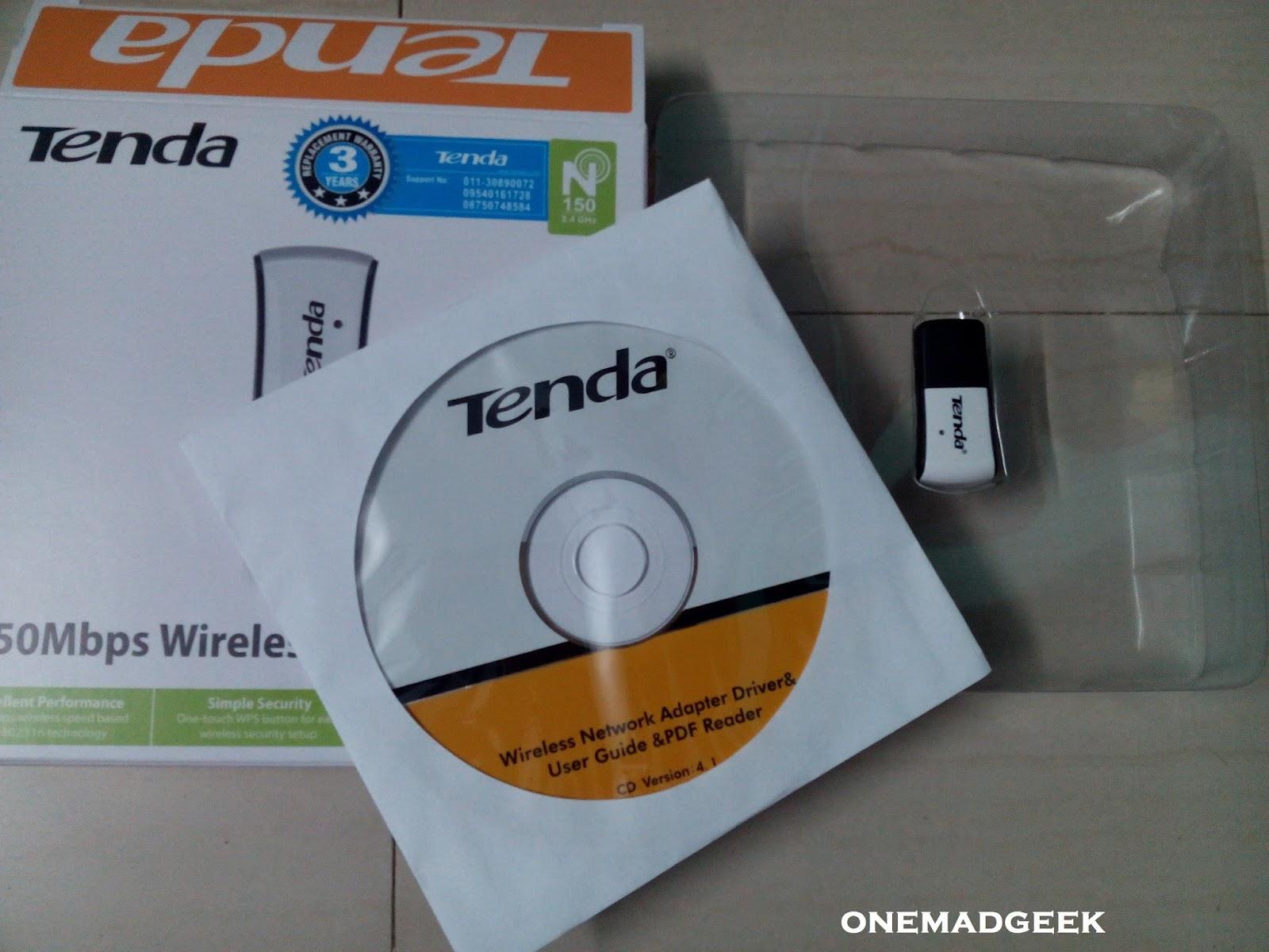 Wifi адаптер tenda w311mi драйвер скачать