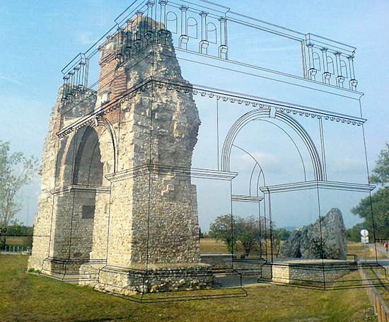Archi romani for Archi arredo roma