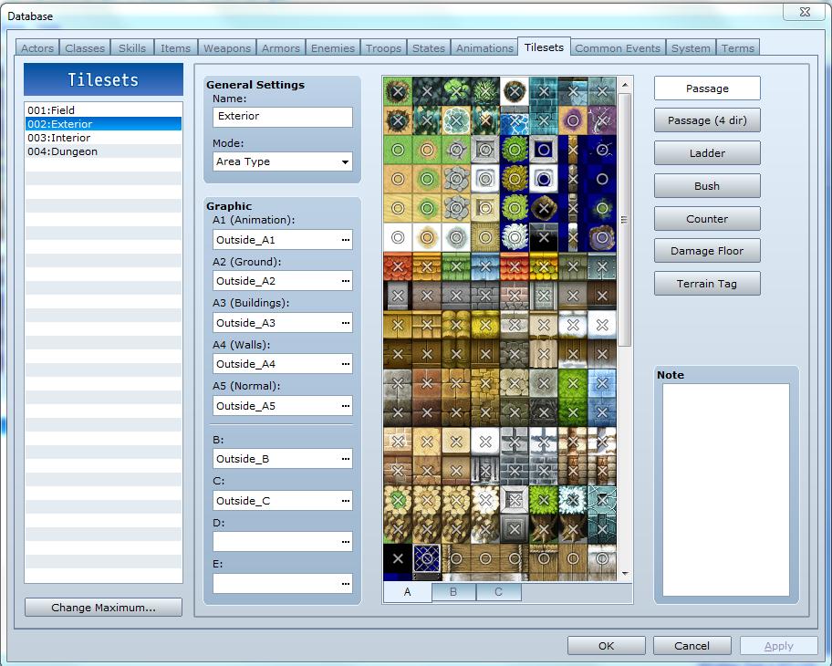 Tự làm game với RPG Maker - #2: Tùy chỉnh sơ qua về Database và