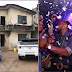 REVEALED!!! LAGOSIAN WHO PARKED EXPENSIVE CARS IN AN OLD UNEXPECTED BUILDING EXPLAINS WHY HE STILL LIVES THERE..