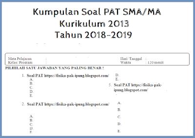 Soal UAS/UKK PKN Kelas 10 11 Semester 2 Kurikulum 2013 Tahun 2018/2019
