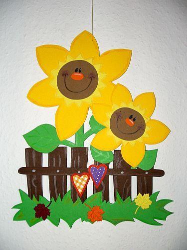 Bastelingrinis Karten Sonnenblumen