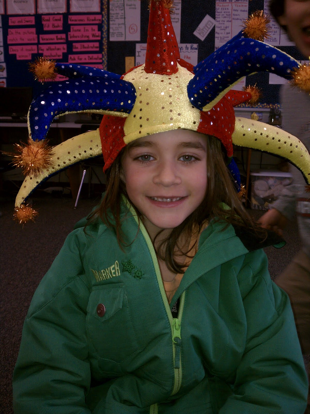 Ms Dennington S Class Blog Crazy Hat Day Happy