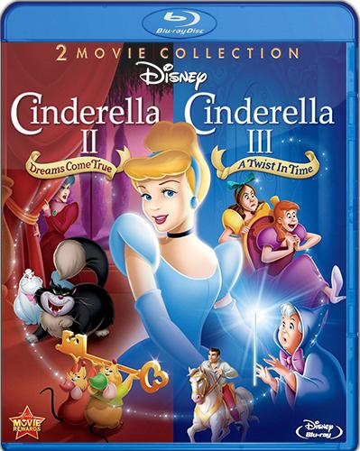 Cinderella II: Dreams Come True. Cinderella III: A Twist in Time [2002 – 2007] [BD25] [Latino]