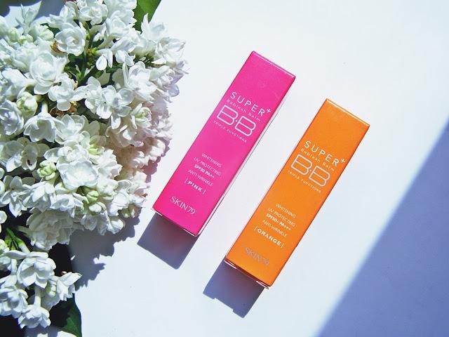 Skin79: BB Orange + BB Pink