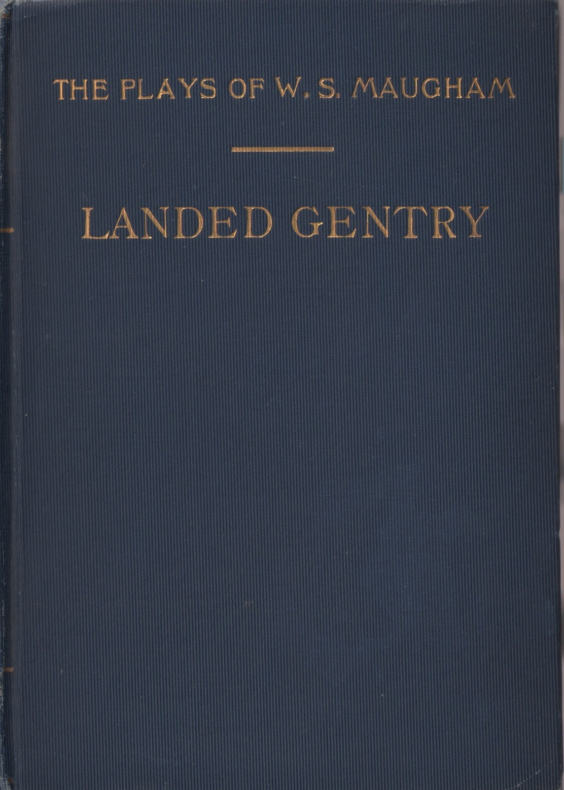 cover of Landed Gentry by W. Somerset Maugham
