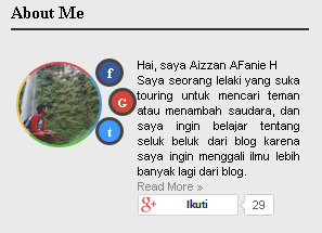 Aizzan Blog:  Cara Mengedit About Me di Blogger