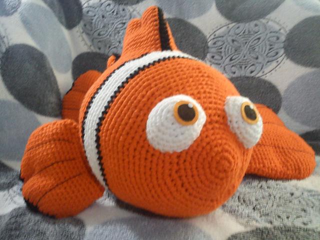 Häkelblog Täglich Neue Anleitungen Clownsfisch Nemo Häkelanleitung