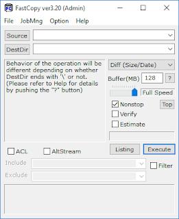 FastCopy 3.52 Free Version