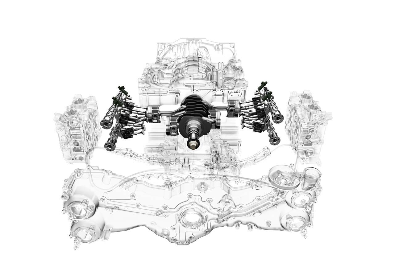 subaru boxer engine