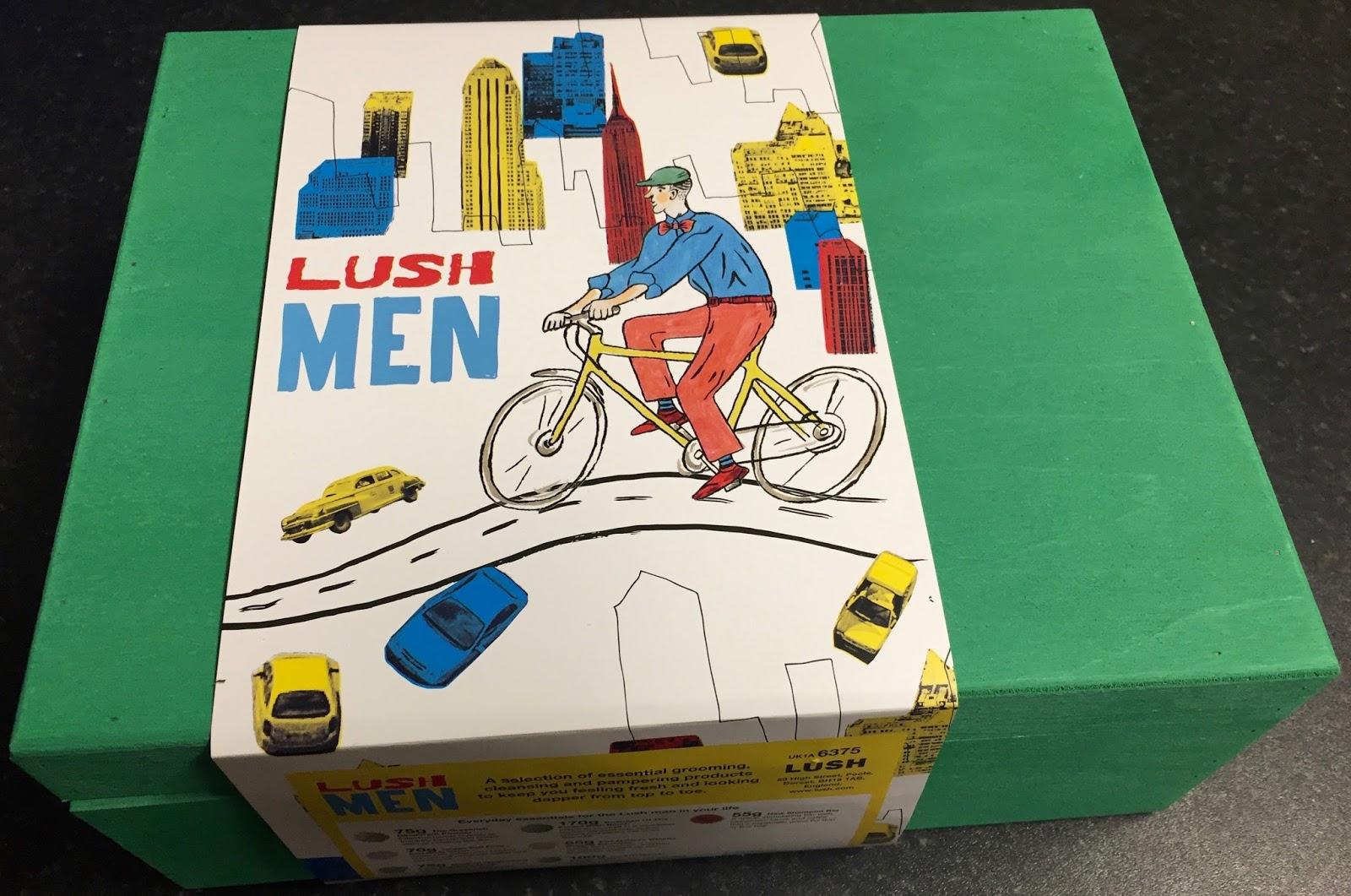 All Things Lush UK: Lush Men Wooden Box Gift Set