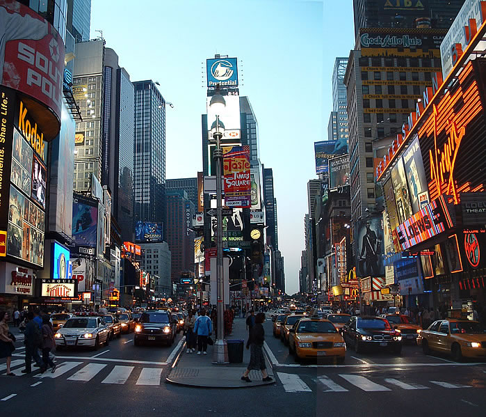 USA Today: New York Times Square Beautiful Pictures AT