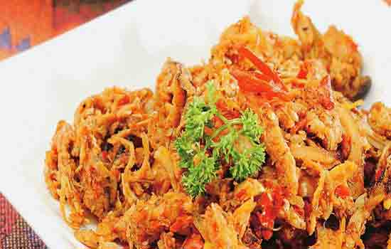 ayam suwir, resep ayam suwir, yang lezat dan nikmat