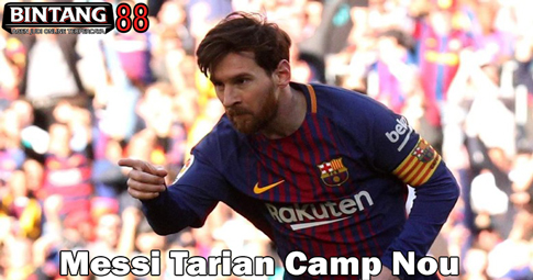 Messi Tarian Camp Nou