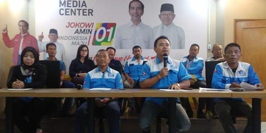 Serikat Pekerja Nasional Deklarasi Dukung Jokowi-Ma'ruf Amin