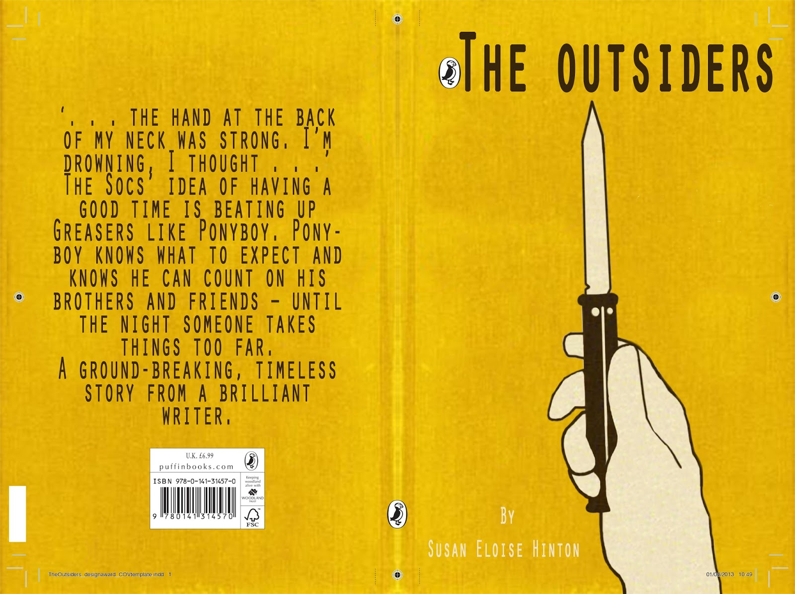 "the outsiders essay book vs movie Name_____compare and contrast chart clip @ hostos spring 2013 ""the outsiders"" book movie how are they similar."