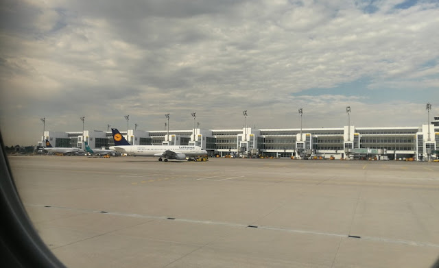Flughafen München vor dem Start