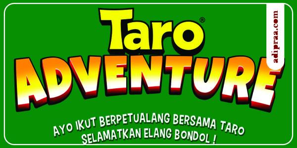 Taro Adventure, AR Game Petualangan Menyelamatkan Elang Bondol | adipraa.com