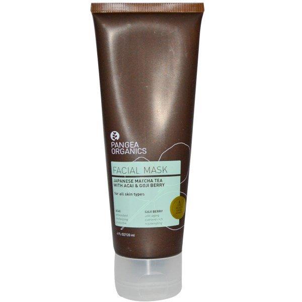 0931fb266 Pangea Organics, Facial Mask, Japanese Matcha Tea with Acai & Goji Berry, 4  fl oz (120 ml)