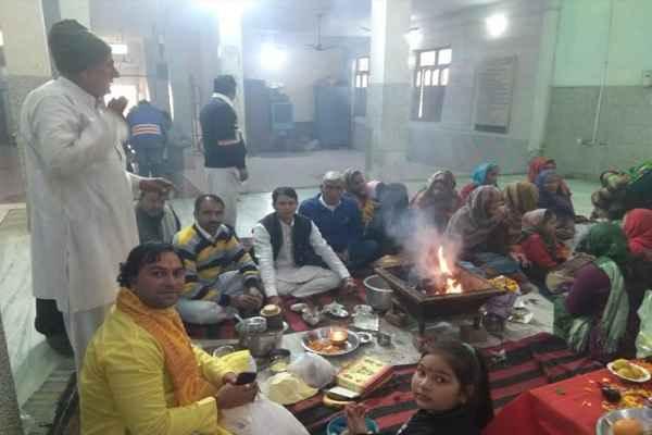 akhil-bhartiya-manav-kalyan-trust-pooja-hawan-new-year-2019-news