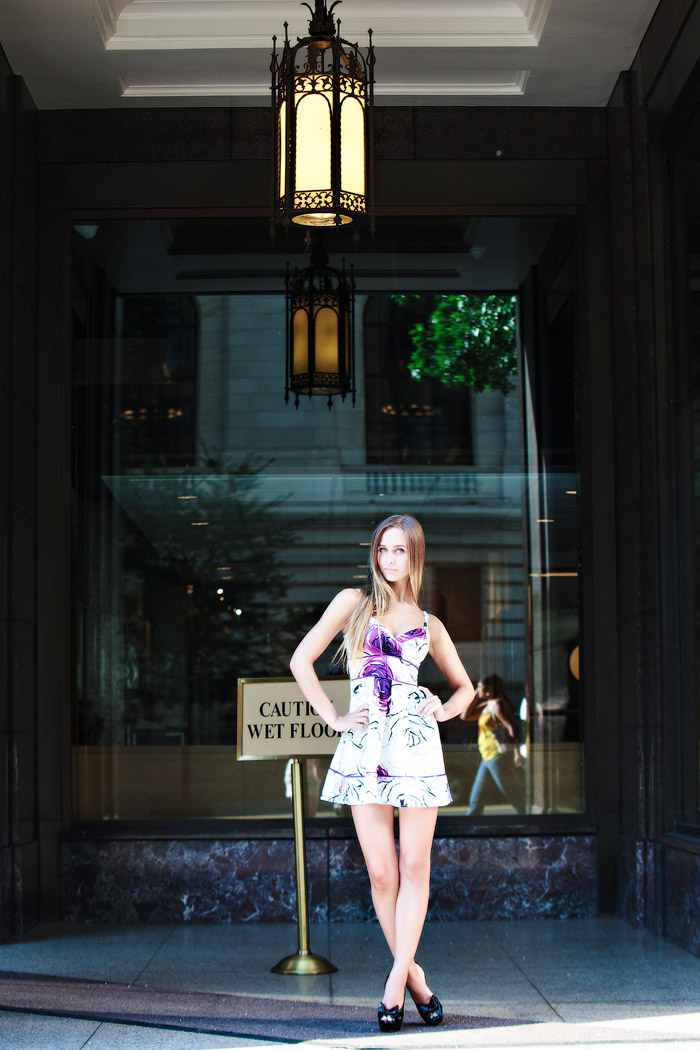 Fashion-Shooting in New York