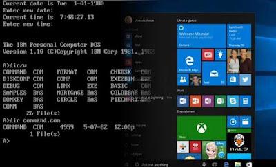 Perbedaan Sistem Operasi CLI & GUI