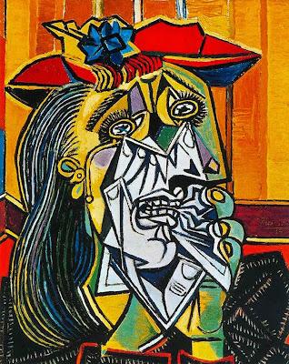 a Mulher Chorando 1937+Pablo+Picasso - Efeito Colateral