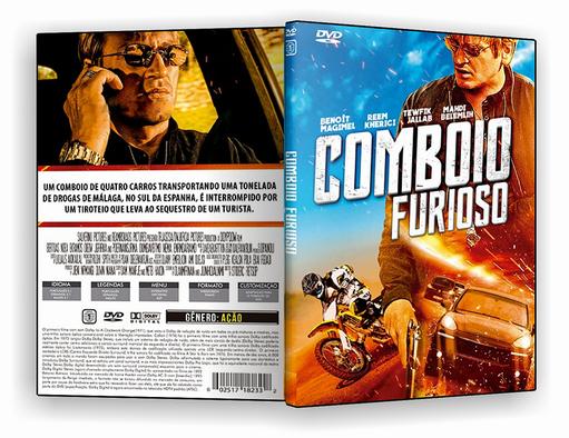 DVD-R Comboio Furioso – AUTORADO
