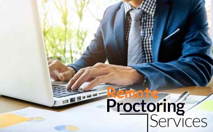 online remote proctoring