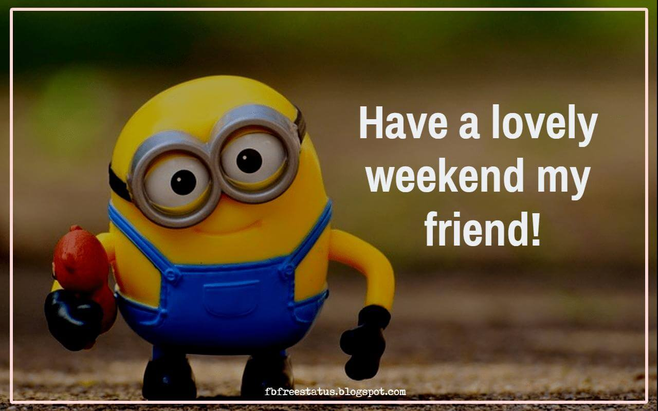 Have a lovely weekend my friend!