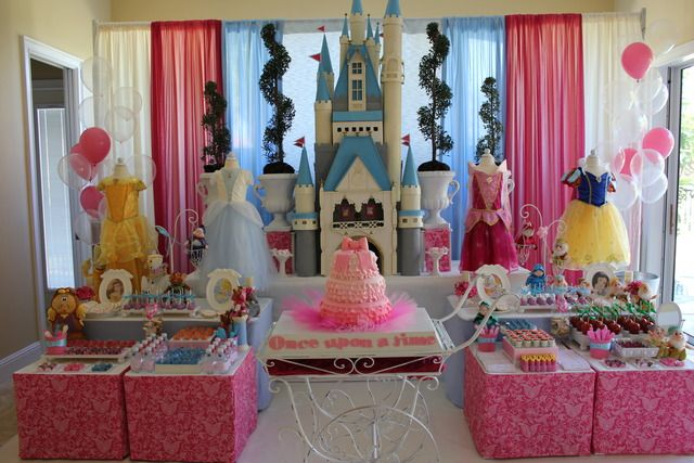 Writing Our Story Planning A Princess Birthday Party