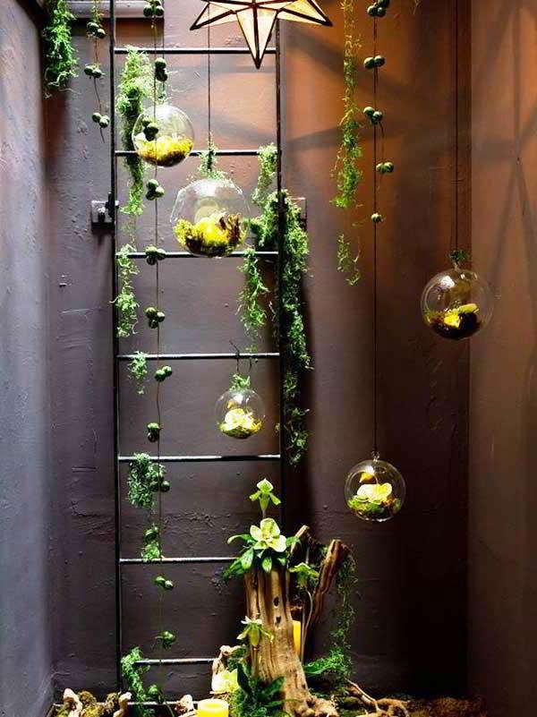 25 desain keren taman minimalis mungil di lahan sempit dalam rumah