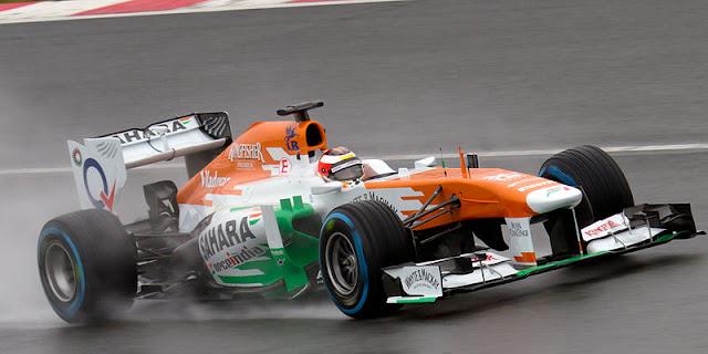 Gambar Mobil Balap F1 Force India 01