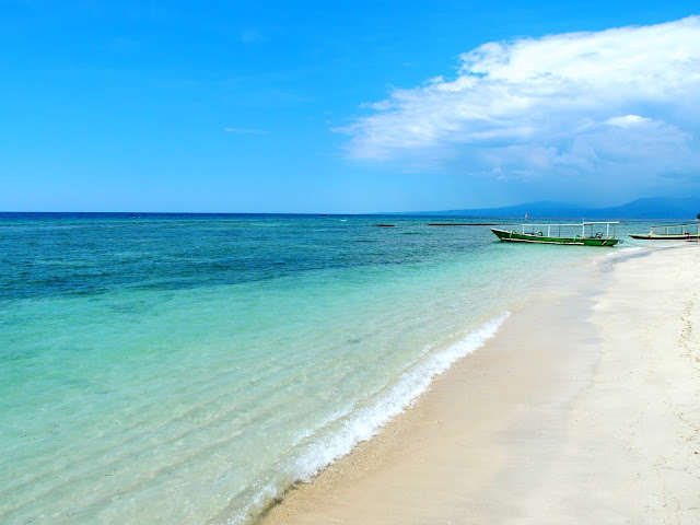 gili indonesia playas