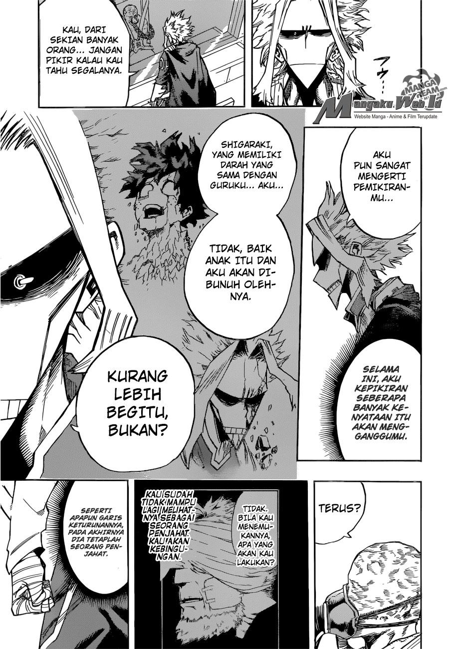 Boku no Hero Academia Chapter 116-12