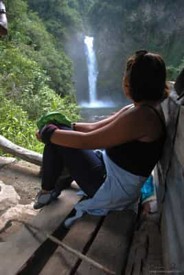 View of Tappiya Falls
