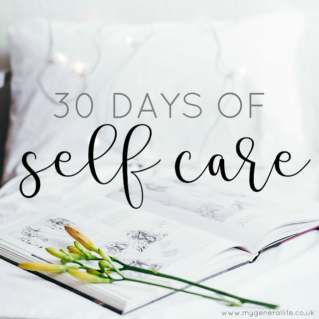 Just a quick recap for the 30 Days of Self Care and general thoughts about the next steps for My General Life!