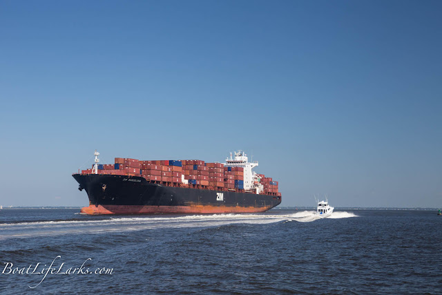 Container Ship, Hampton Roads