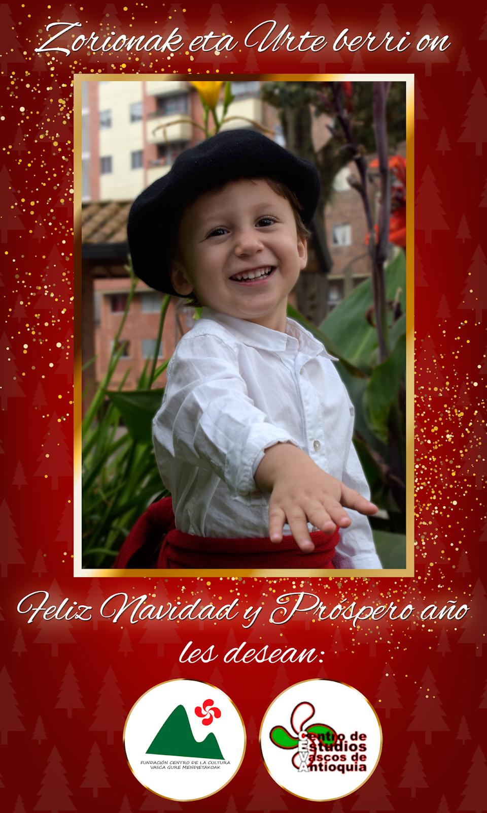 Decir Feliz Navidad En Vasco.Centro Vasco Gure Mendietakoak
