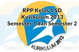 Download RPP PAI Kelas 1 SD Kurikulum 2013 Semester 1 dan Semester 2