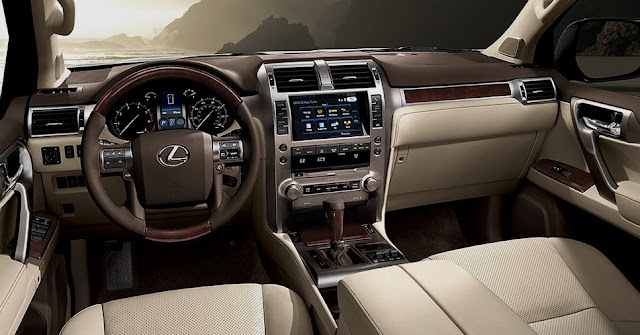 2018 Lexus GX 460 Interior Redesign