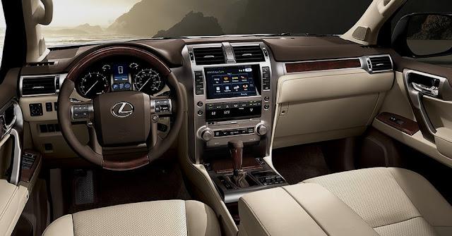 2018 Lexus GX 460 Interior Redesign
