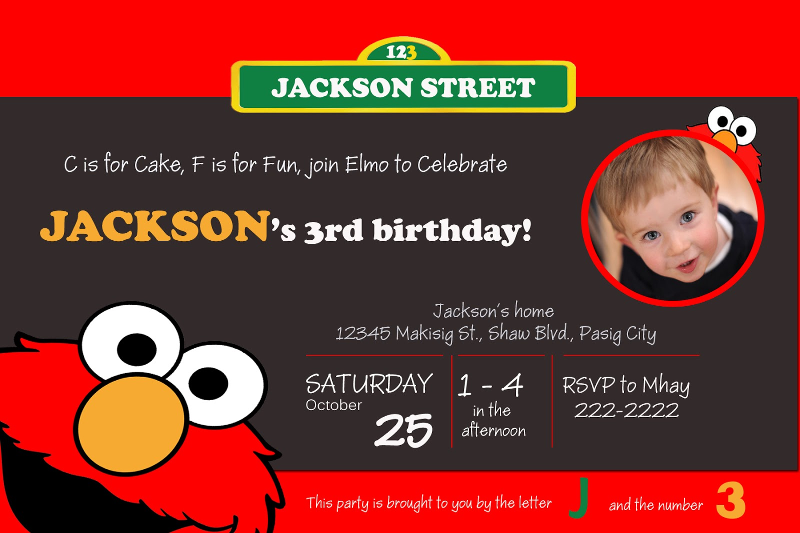 Moms Kiddie Party Link: Freebie: Sesame Street, Elmo and Cookie ...